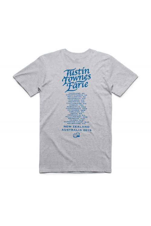 Dice Heather Grey Tshirt by Justin Townes Earle