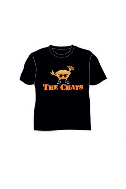 Meat Pie Black Tshirt by The Chats
