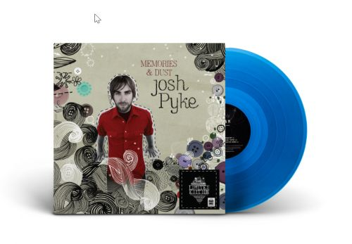 Memories and Dust LIMITED EDITION Translucent Blue Vinyl by Josh Pyke
