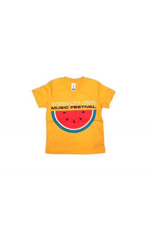 Kids Watermelon Gold Tshirt 2018 Event by Sydney City Limits