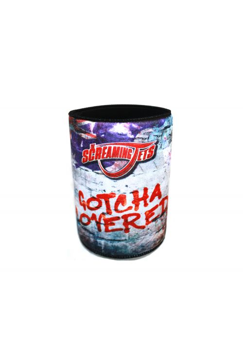 Gotcha Covered Stubby Holder by The Screaming Jets