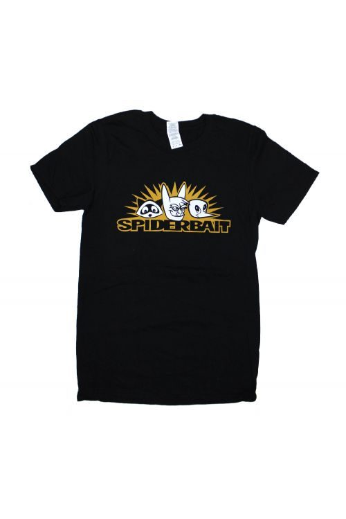 Critters Black Tshirt by Spiderbait
