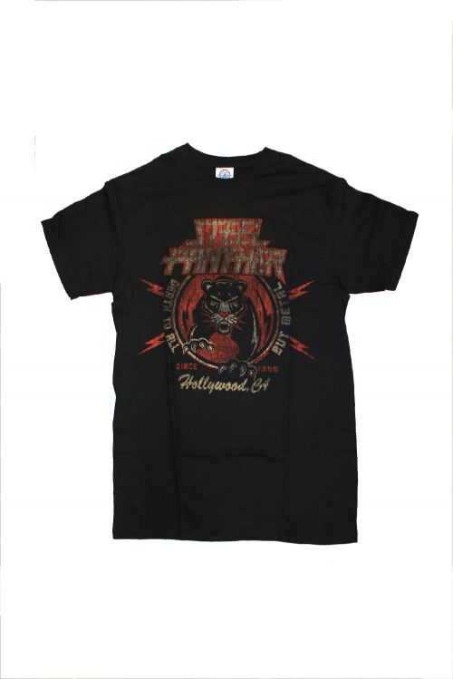 Tiger Black Tshirt by Steel Panther
