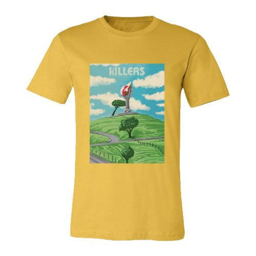 One Tree Hill Yellow Shirt (NZ Exclusive) by The Killers