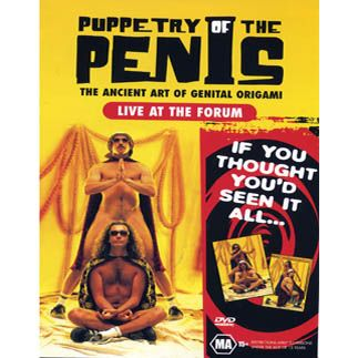 """Puppetry of the Penis: Live at The Forum"" DVD (NTSC) by Puppetry Of The Penis"