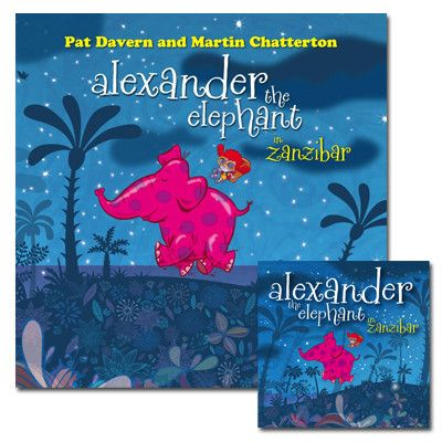 Alexander The Elephant Book + CD by Love Police Books