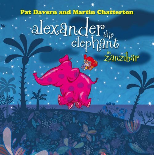 Alexander The Elephant Book by Love Police Books