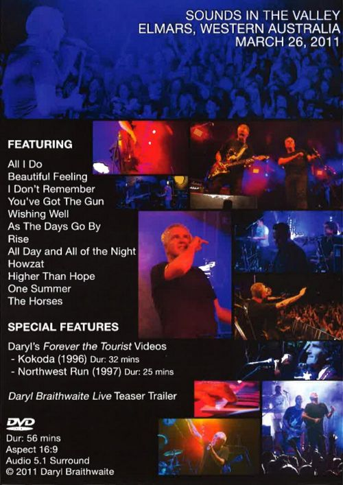 Live DVD - Limited Signed Copies by Daryl Braithwaite