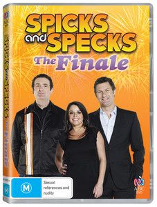 The Finale DVD by Spicks And Specks