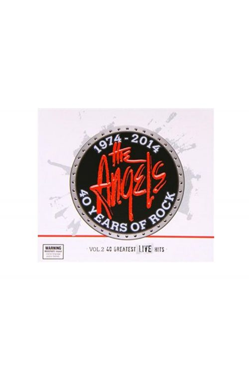 40 Years of Rock - Vol. 2: 40 Greatest Live Hits (3CD) by The Angels