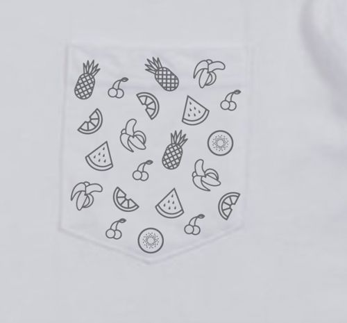 Vacation White Tshirt  by Paces