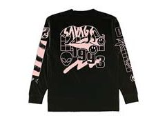 Savage Black Longsleeve Tshirt by Paces