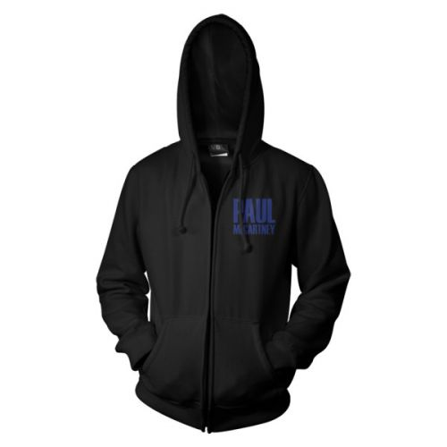 Sideways Black Zip Hood One On One World Tour 2017 by Paul McCartney