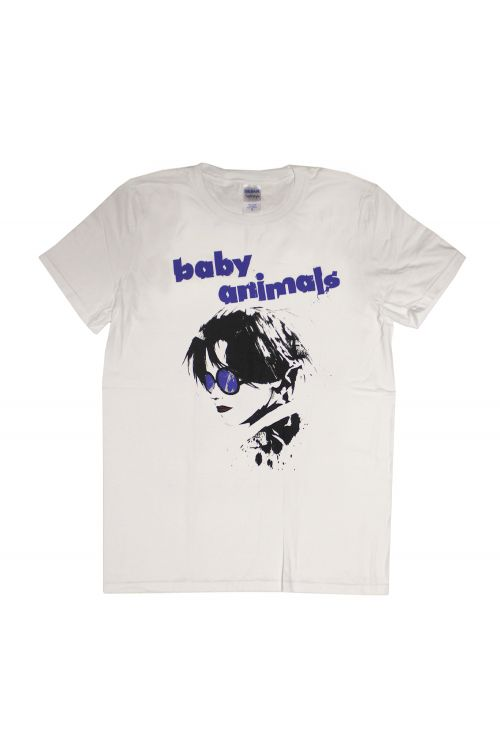 Album Cover White Tshirt by Baby Animals