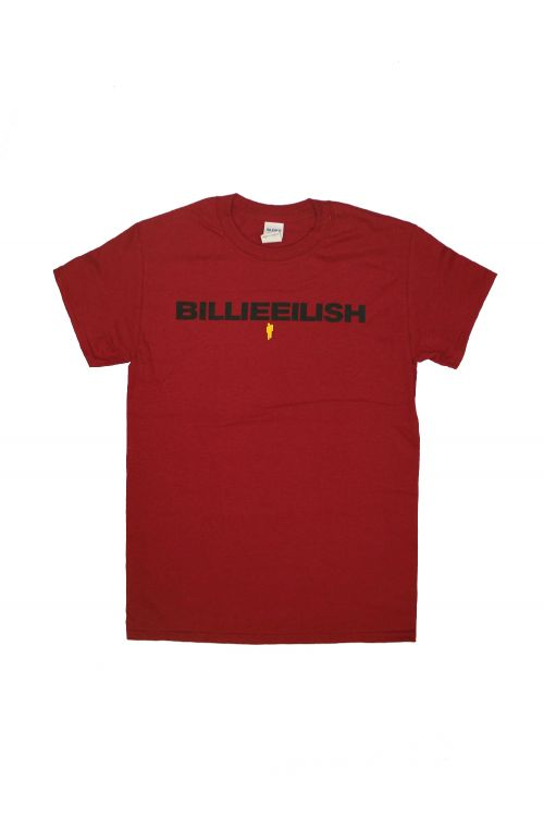 Don't Smile Red Tshirt by Billie Eilish