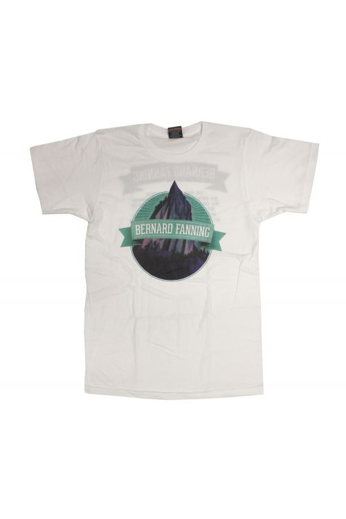 A Day On The Green White Mens Tshirt by Bernard Fanning