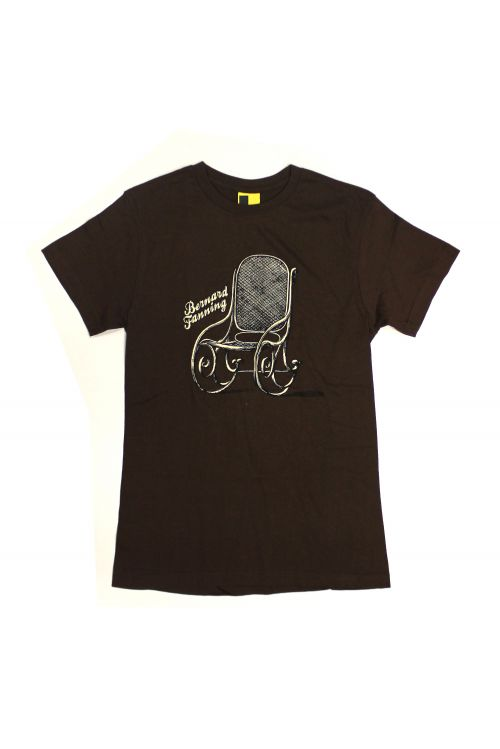 Brown Chair Mens Tshirt by Bernard Fanning