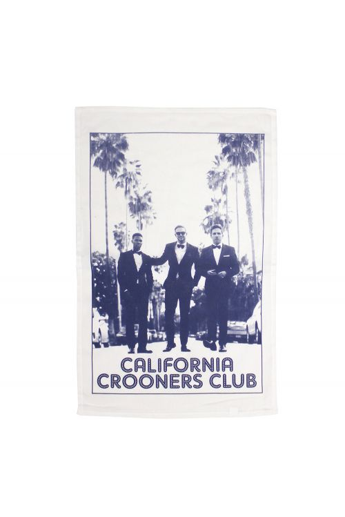 Tea Towel by California Crooners Club