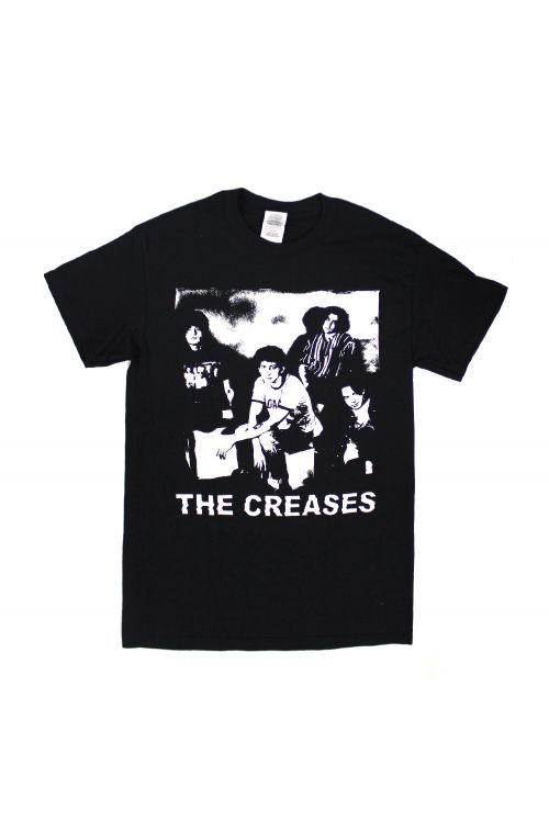 Band Photo Black Tshirt by The Creases