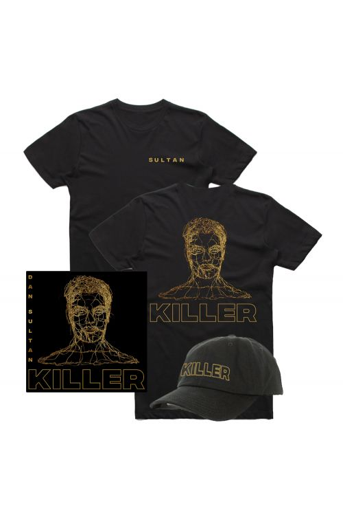 Killer Vinyl LP/Tshirt/Cap Combo Pack by Dan Sultan