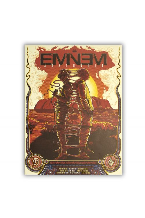 Poster Australian Tour (Uluru) Limited by Eminem