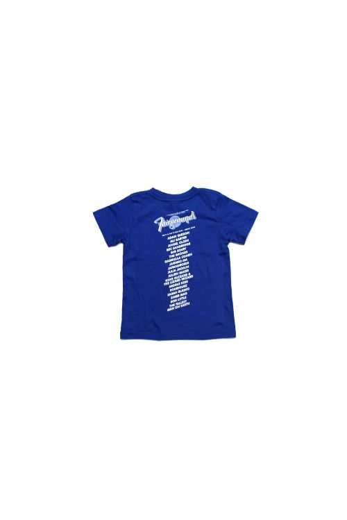 Logo Kids 2016 Event Royal Blue Tshirt by Fairgrounds