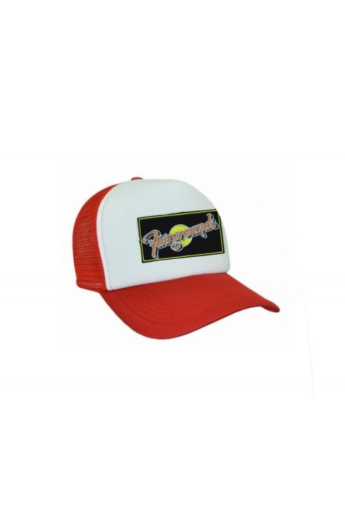 Kids Red/White Trucker Hat by Fairgrounds