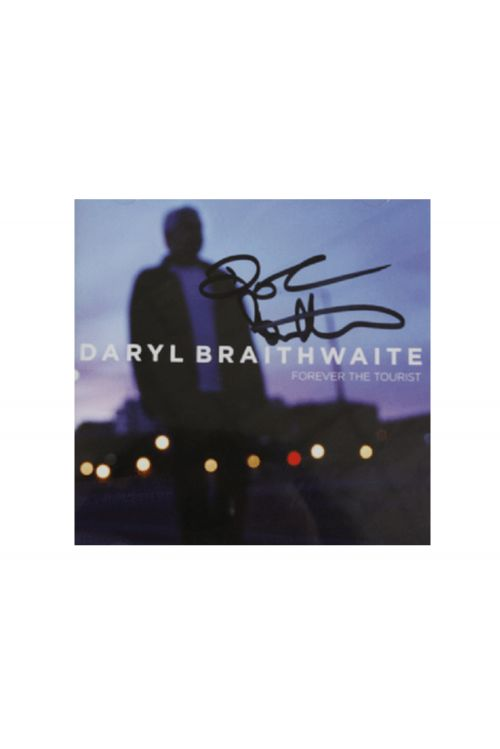 Forever The Tourist CD - Limited Signed Copies by Daryl Braithwaite