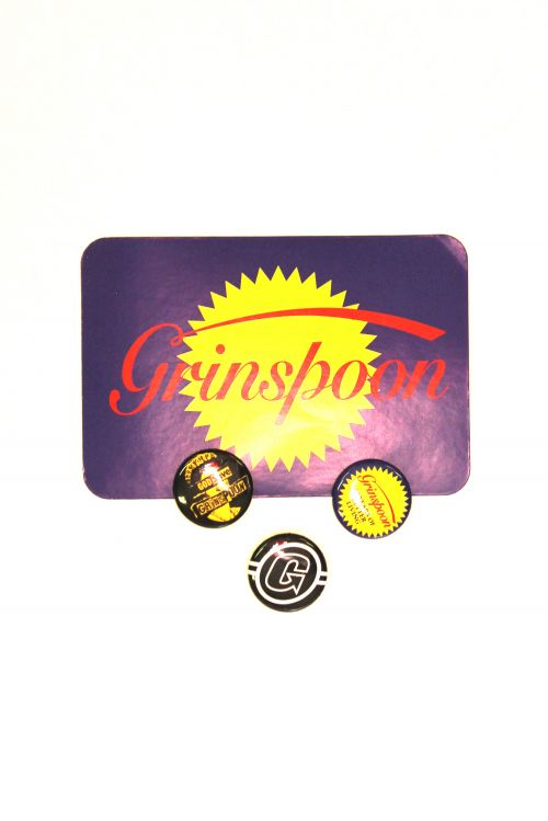 Badge/Sticket Set by Grinspoon