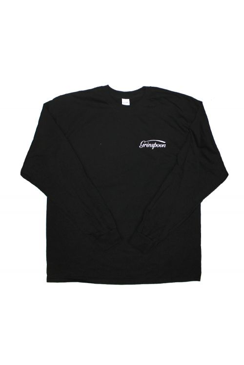 Pocket Logo Black Long sleeve Tshirt by Grinspoon