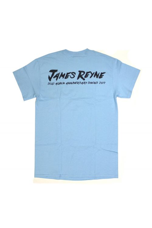 Anniversary Baby Blue Tshirt by James Reyne