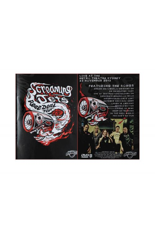DVD Real Deal Tour by The Screaming Jets