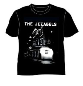 Lansdowne Hotel Sold out 7 nights Black Tshirt by The Jezabels