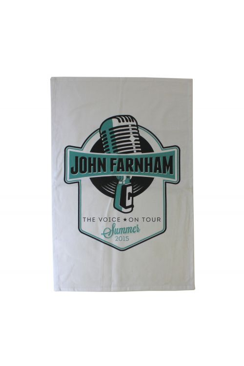 The Voice Tea Towel by John Farnham