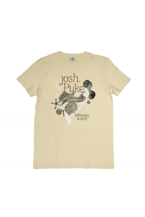 Memories and Dust Natural Tshirt by Josh Pyke
