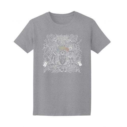 SPECIAL EDITION MARGARET COURT GREY MARLE T-SHIRT by Sigur Rós