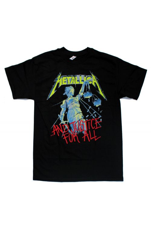 Justice For All Black Tshirt by Metallica