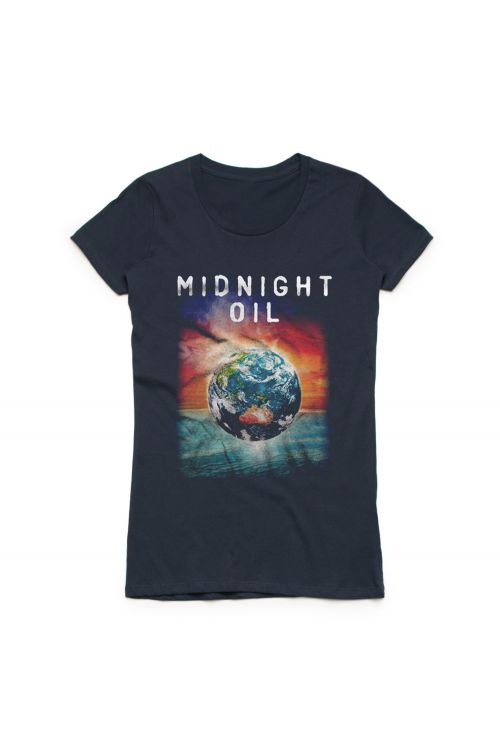 Midnight Oil Midnight Oil Official Merchandise Band T