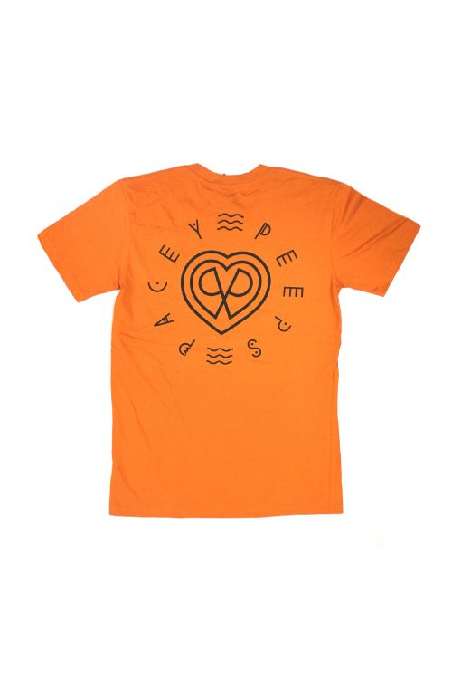 Pacey Peeps Orange Mens Tshirt by Paces
