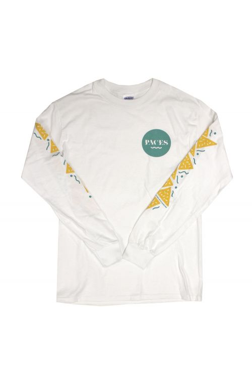 Dorite White Longsleeve Tshirt by Paces