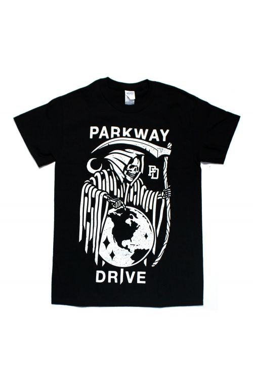 Reaper Black Tshirt by Parkway Drive