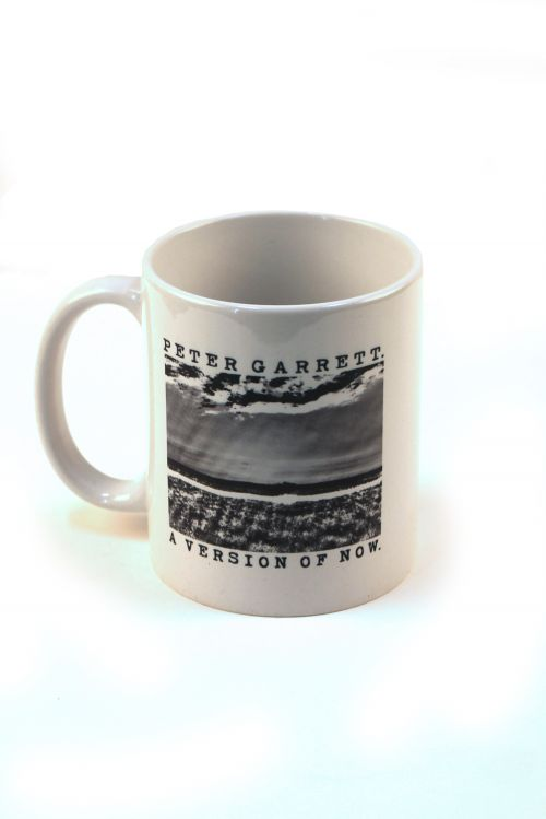A Version of Now Coffee Mug White by Peter Garrett