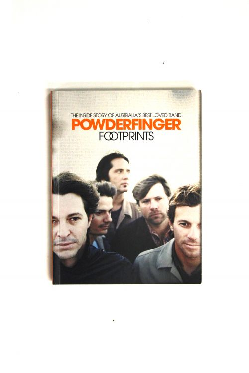 Footprints Book by Powderfinger