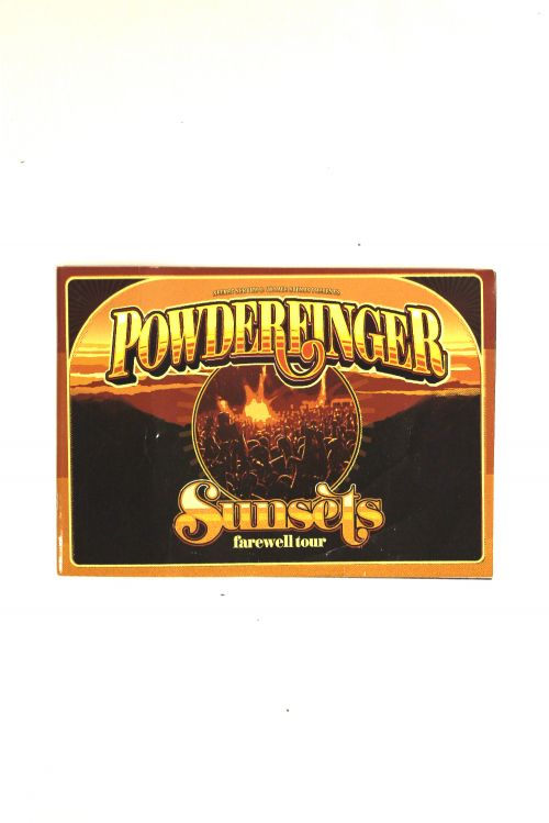 Tour Program Sunsets Farewell by Powderfinger