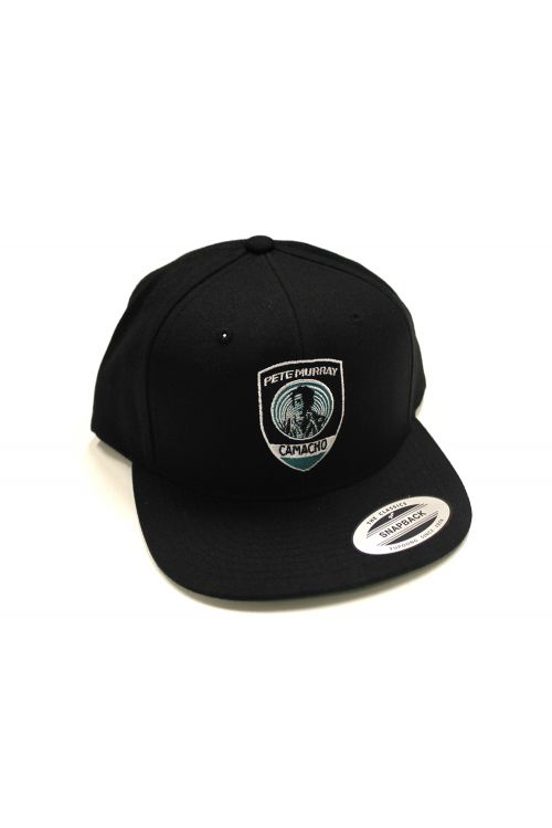 Camacho  Snap Back Black Shield by Pete Murray