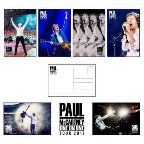 Postcard Set One On One World Tour 2017 by Paul McCartney