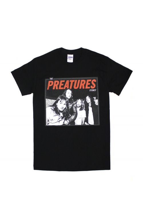 Photo Box Black Tshirt by The Preatures