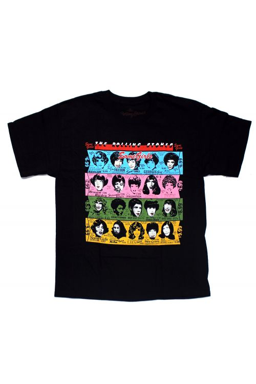 Some Girls Black Tshirt by The Rolling Stones