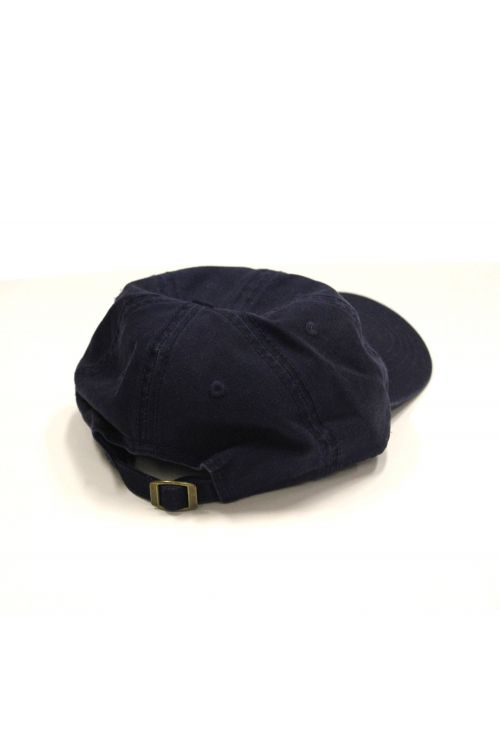 Hoops Blue 5 Panel Cap by The Rubens