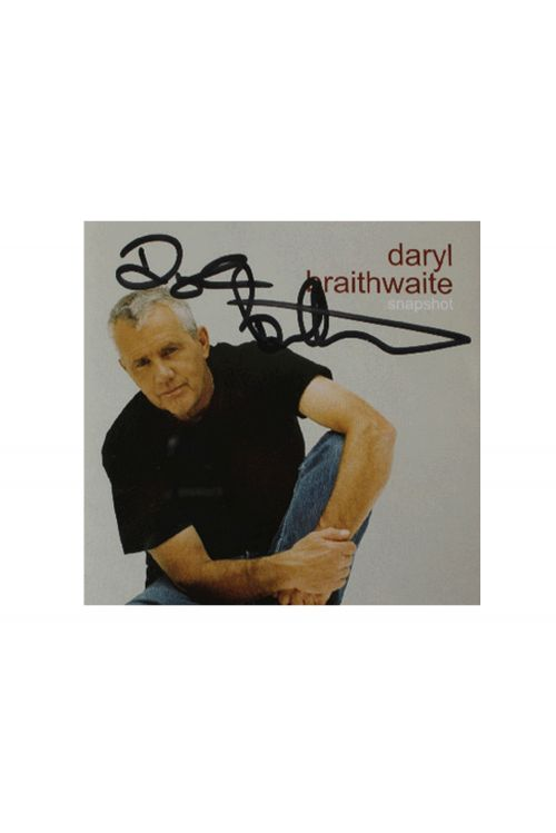 Snapshot CD (Limited Signed Copies) by Daryl Braithwaite